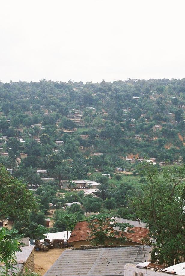 Suburban slums in Kinshasa, DRC