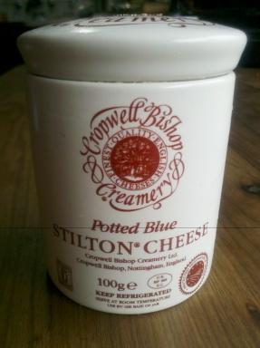 Potted Blue Stilton