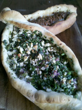 Home-made pide