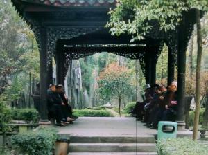 Renmin (People's) Park, Chengdu