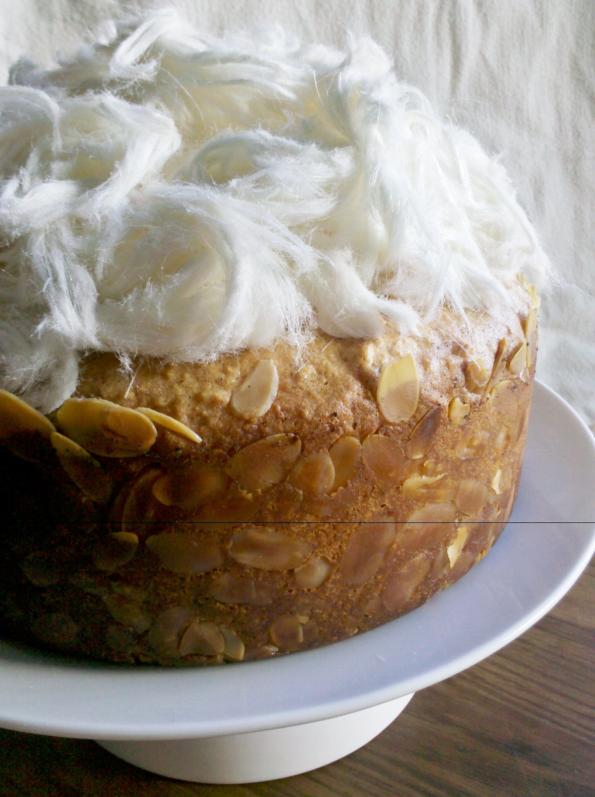 Heavenly almond and honey vanilla syrup cake | Susan's Sumptuous ...