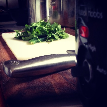 Fresh herbs and the slower cooker: you know it's going to be good