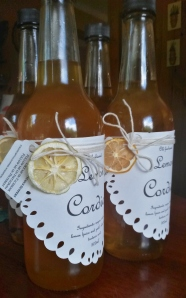 Old fashioned lemon cordial