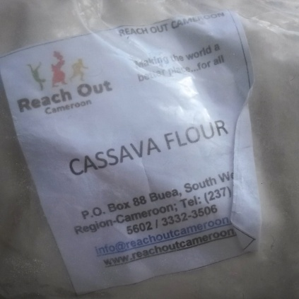 A friend bought me some cassava flour