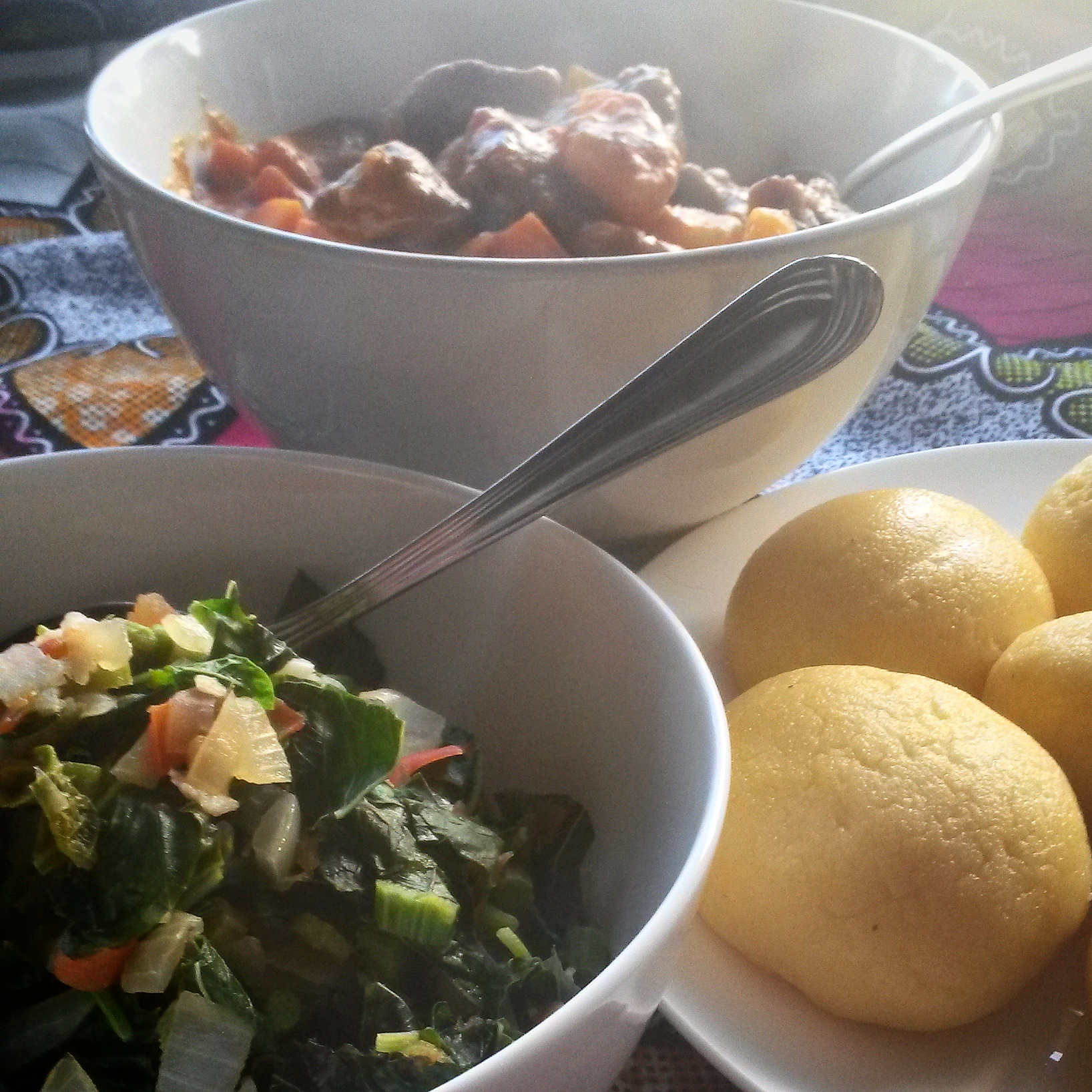 13 African Recipes: Making Fufu The Congolese Way