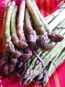 Australian asparagus spears