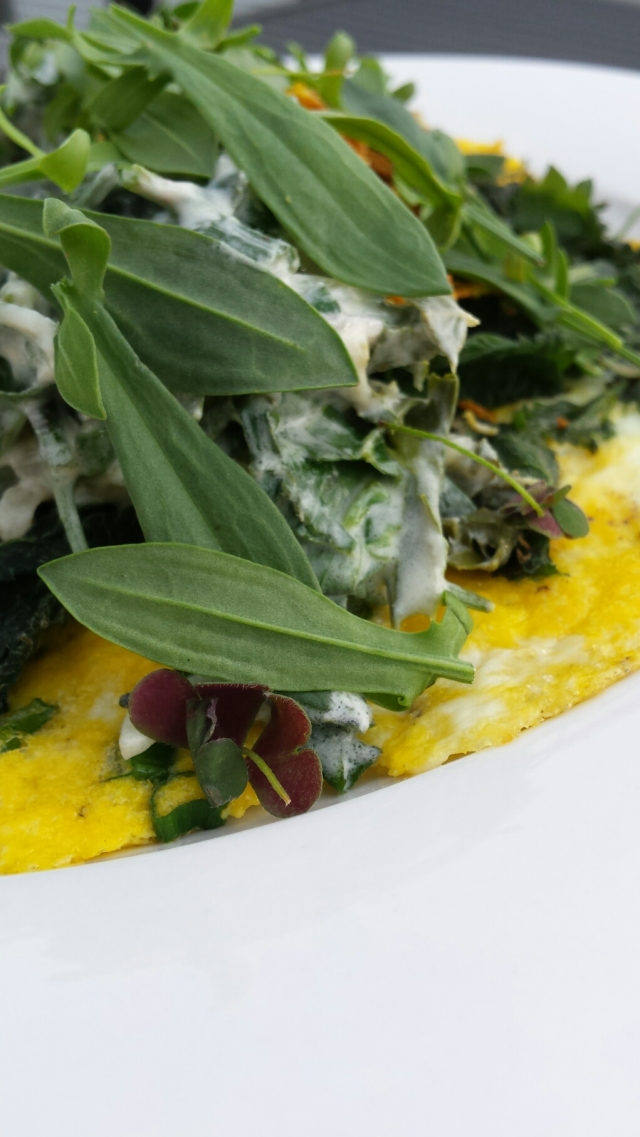 Weed omelette