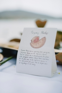 Pumpkin pasty label by Erin Claire Illustrations (photo by Pobke Photography)