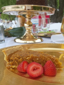A slice of treacle tart at my Potter Picnic Party