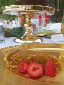 A slice of treacle tart at my Potter Picnic Party